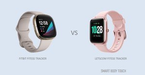 comparing the Letscom Vs Fitbit