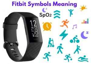 Fitbit Symbols Meaning