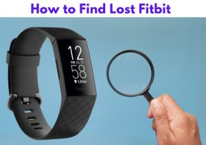 How to Find Lost Fitbit