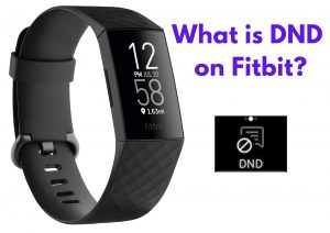 What is DND on Fitbit?
