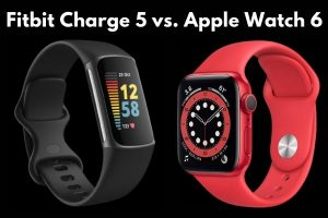 Fitbit Charge 5 vs. Apple Watch 6